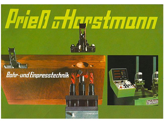 Geschichte 1970 Priess und Horstmann