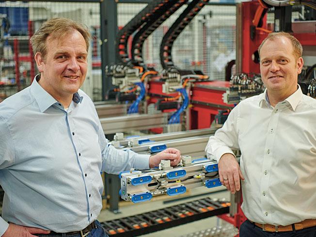 Sven Prieß und Björn Prieß (v.l,n.r.) leiten das Unternehmen in der zweiten Generation.