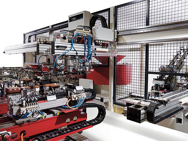 BAT-RTW Bohr- und Montageanlage komplett